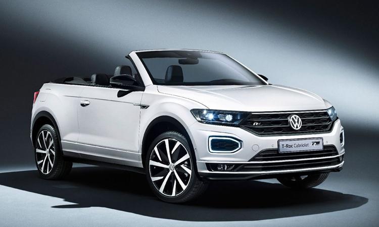 Volkswagen T-Roc Cabriolet รถอเนกประสงค์เปิดประทุน
