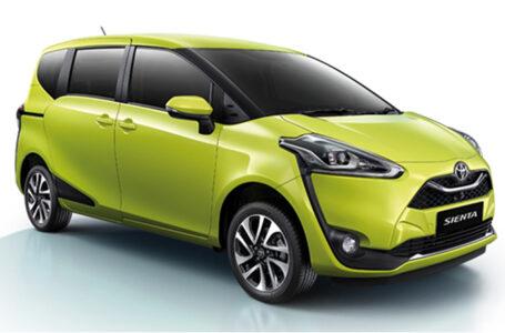 ราคา ตารางผ่อนดาวน์ All NEW Toyota Sienta ปี 2020-2021