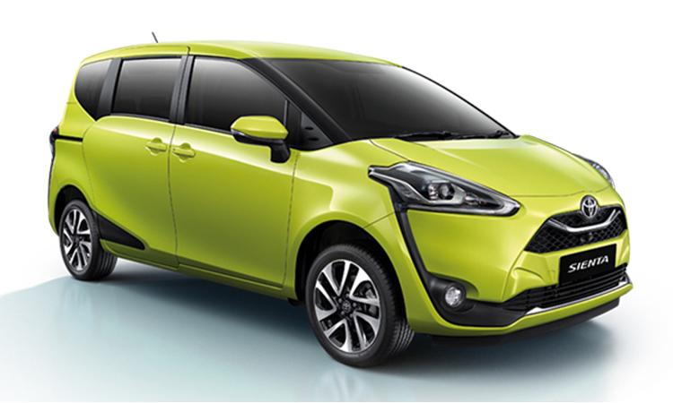 Toyota Sienta Minor Changeรุ่นปรับดีไซน์ใหม่ คาดว่าราคาไม่ต่างจากเดิม