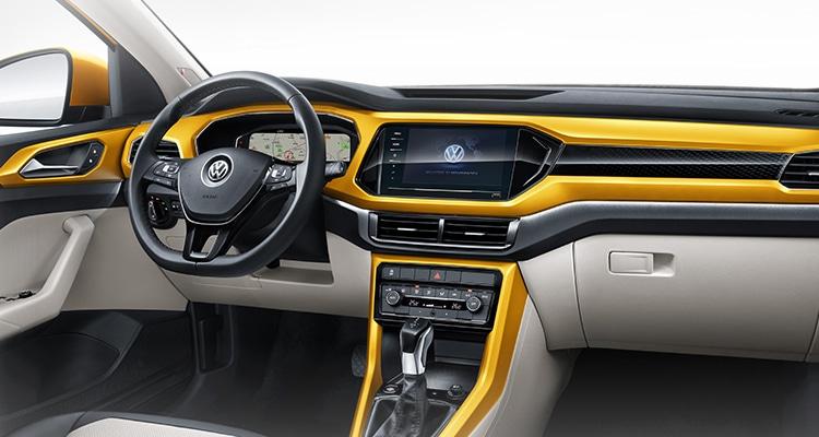 ดีไซน์ภายใน Volkswagen T-Cross