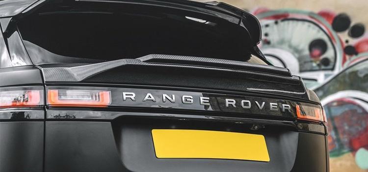 ดีไซน์ด้านท้าย Kahn Range Rover Velar P300 Pace Car