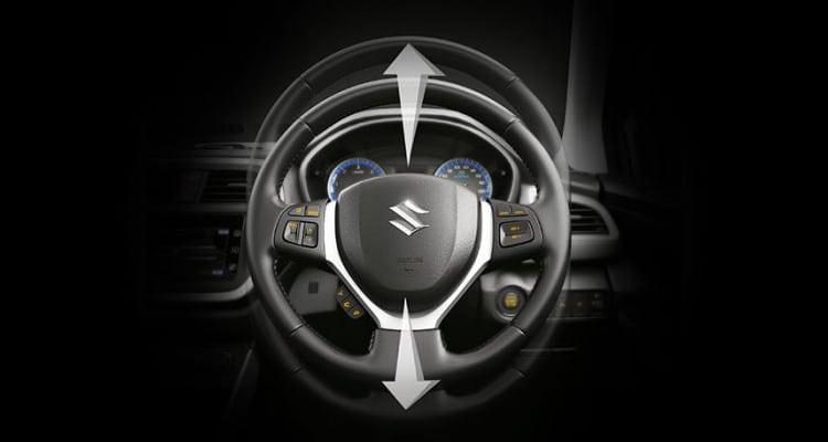 Suzuki S-Cross พวงมาลัยปรับระดับได้