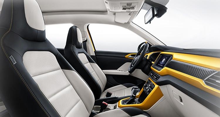 ภายใน Volkswagen T-Cross
