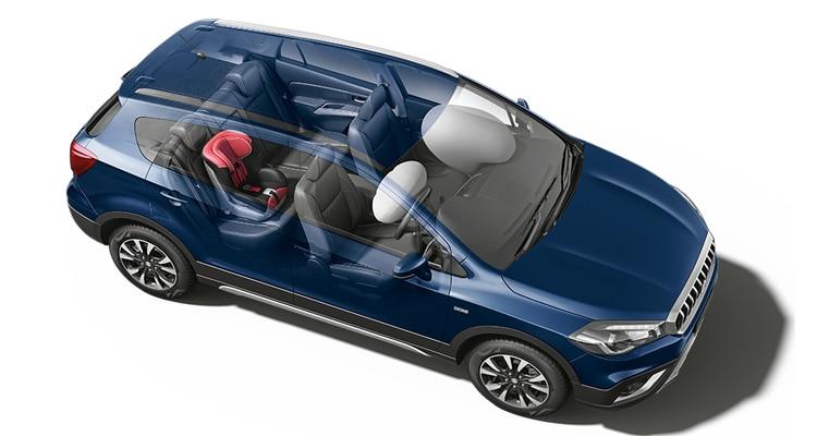 ระบบความปลอดภัย Suzuki S-Cross
