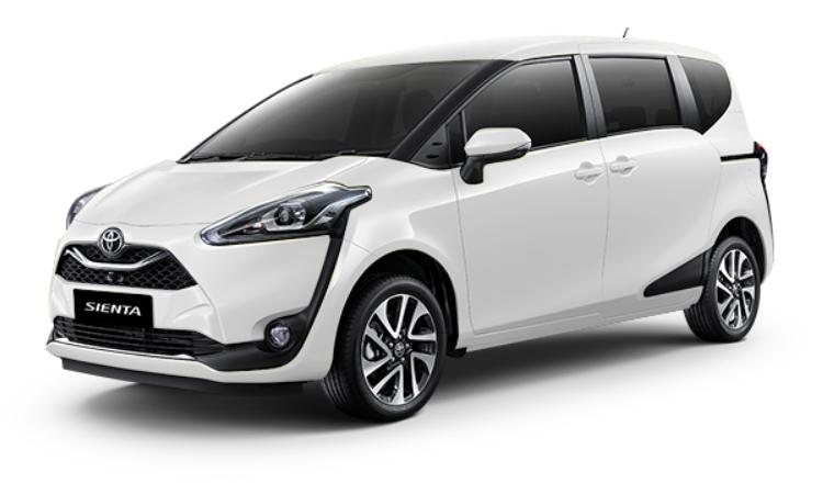 Toyota Sienta สี Super White II