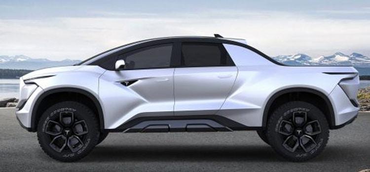 รถกระบะพลังงานไฟฟ้า Tesla