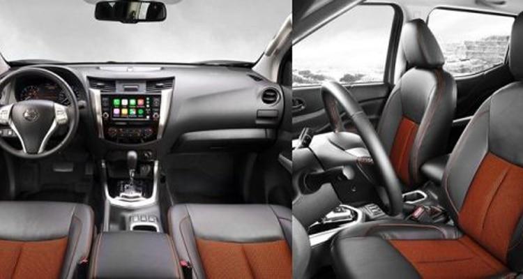 ภายใน Nissan Navara Black Editio