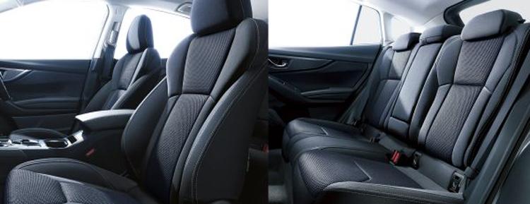 เบาะนั่ง Subaru Impreza