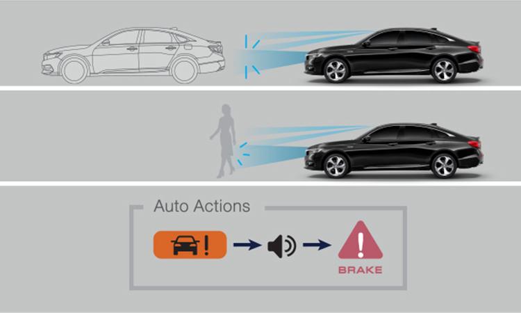 ระบบความปลอดภัย Honda Accord Gen10
