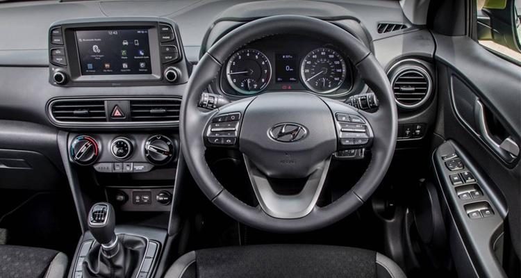 ภายใน Hyundai Kona Play