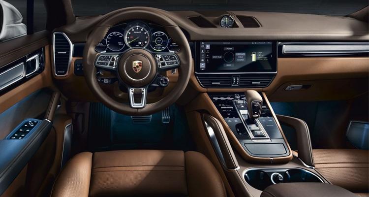 ดีไซน์ภายใน Porsche Cayenne Turbo S E-Hybrid