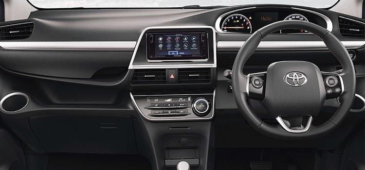 ภายในท Toyota Sienta Minor Change