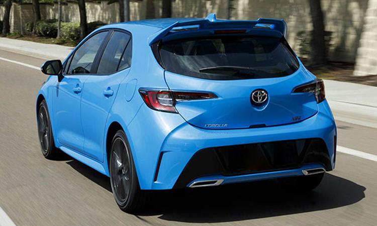 ดีไซน์ด้านหลัง Toyota Corolla Hatchback