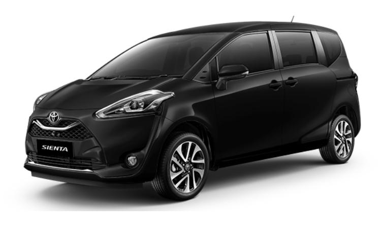 Toyota Sienta สี Attitude Black Mica