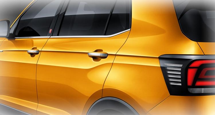 ดีไซน์รอบคัน Volkswagen T-Cross