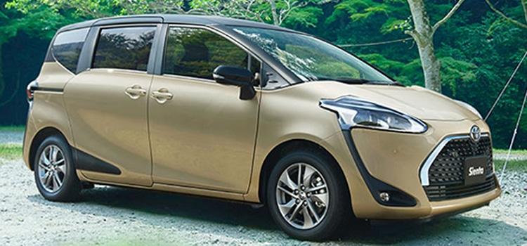 Toyota Sienta Minor Change