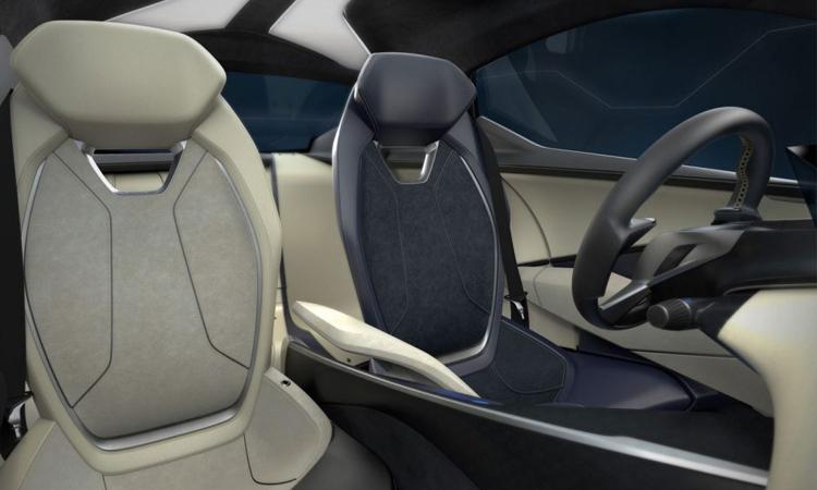 ดีไซน์ภายใน Luxury EV