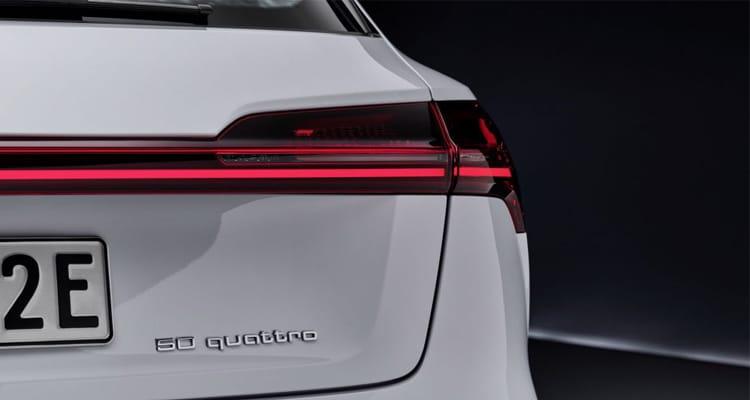ไฟท้าย Audi E-Tron 50
