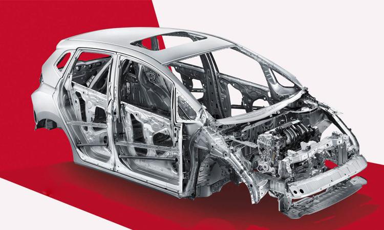 โครงสร้างรถ Honda Fit/Jazz Sport