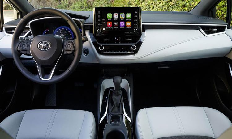 ดีไซน์ภายใน Toyota Corolla Hatchback