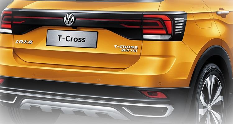 ดีไซน์ไฟท้ายVolkswagen T-Cross