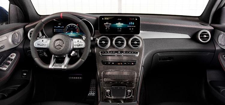 ดีไซน์ภายใน Mercedes-AMG GLC 43 4MATIC / Coupé Facelift