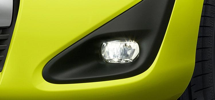 ไฟตัดหมอก Toyota Sienta Minor Change