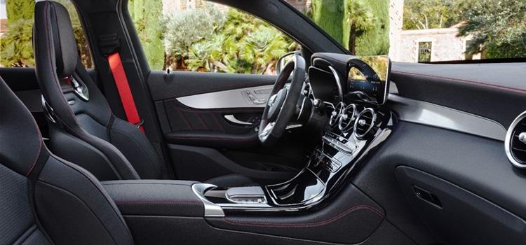 ภายใน Mercedes-AMG GLC 43 4MATIC / Coupé Facelift