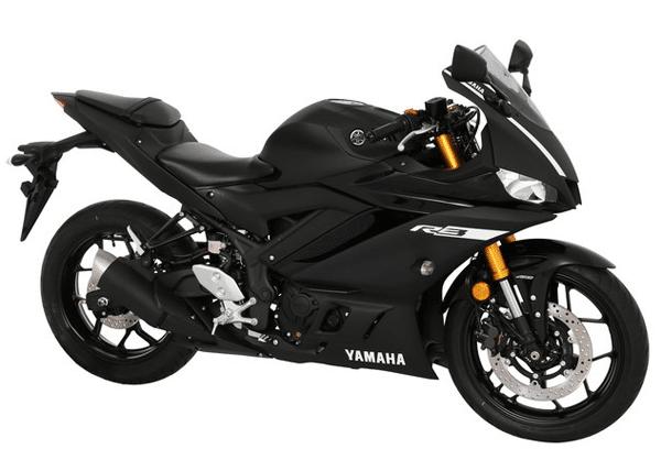 Yamaha YZF-R3 สีดำ