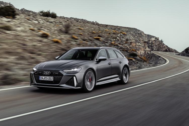 เผยภาพ All-new Audi RS 6 Avant รุ่นปรับปรุงโฉมใหม่ 4