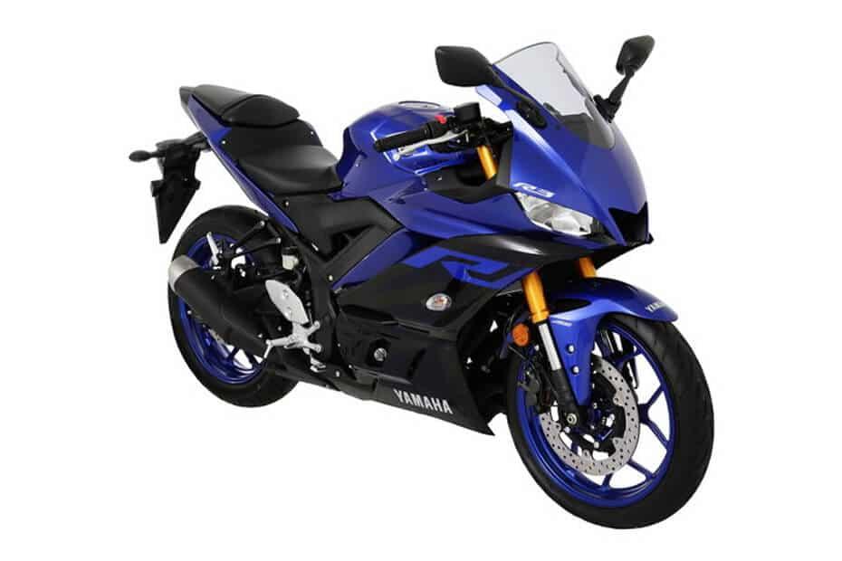 Yamaha YZF-R3 สีน้ำเงิน