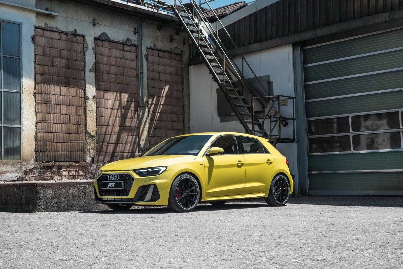 Audi A1 40 TFS ตัวใหม่ เพิ่มความแรงโดย ABT Sportsline 1