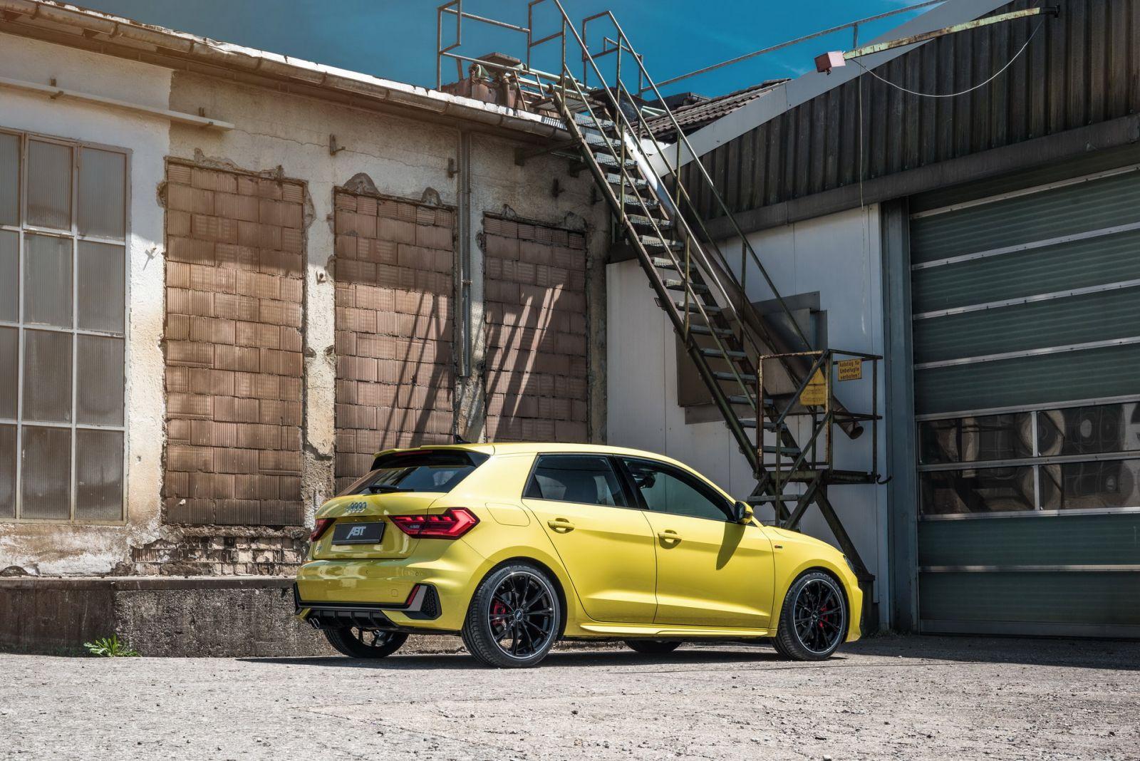 Audi A1 40 TFS ตัวใหม่ เพิ่มความแรงโดย ABT Sportsline 2