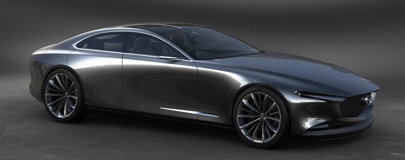 มีลุ้นเปิดตัว Mazda Coupé 4 ประตู 350 แรงม้า ในเดือนตุลาคมนี้ 1