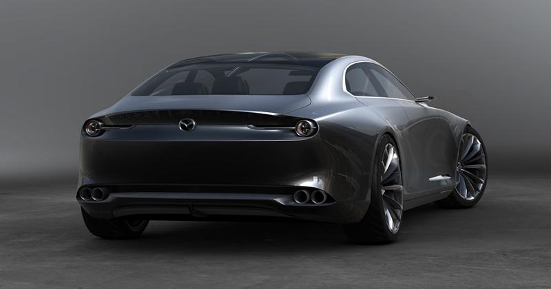 มีลุ้นเปิดตัว Mazda Coupé 4 ประตู 350 แรงม้า ในเดือนตุลาคมนี้ 3