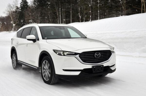 Mazda CX-8 ใหม่ เตรียมเข้ามาเปิดตัวในไทย ปลายปีนี้ เริ่ม 1.6 ล้านบาทไทย