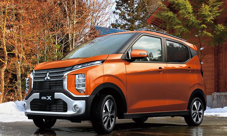 Mitsubishi eK X รถยนต์ Kei Car ราคาเริ่มต้น 410,000 บาท ในแดนปลาดิบ 1