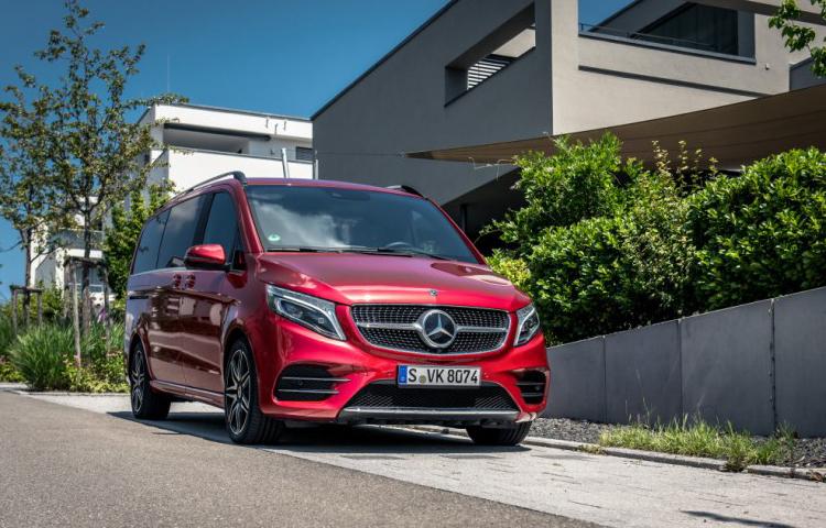 เผยโฉม The V-Classตัวใหม่ของค่าย Mercedes-Benz ราคาเริ่มต้น 3.99 ล้านบาท 1
