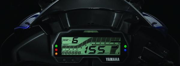 หน้าปัดเรือนไมล์ YamahaR15-2019