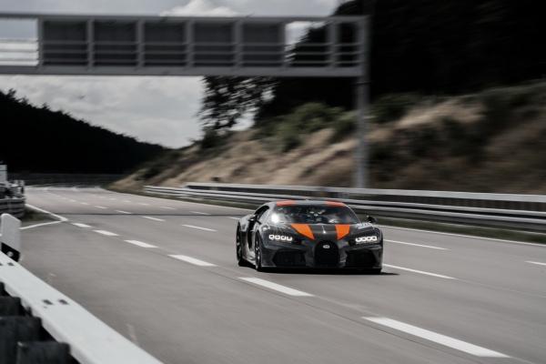 แรงสุดขีด Bugatti Chiron Prototype กับสถิติความเร็ว 490 กม./ชม. 2