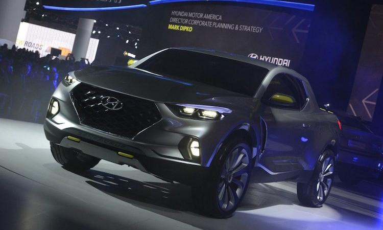 Hyundai pickup