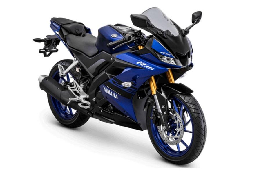 สีน้ำเงิน Yamaha R15