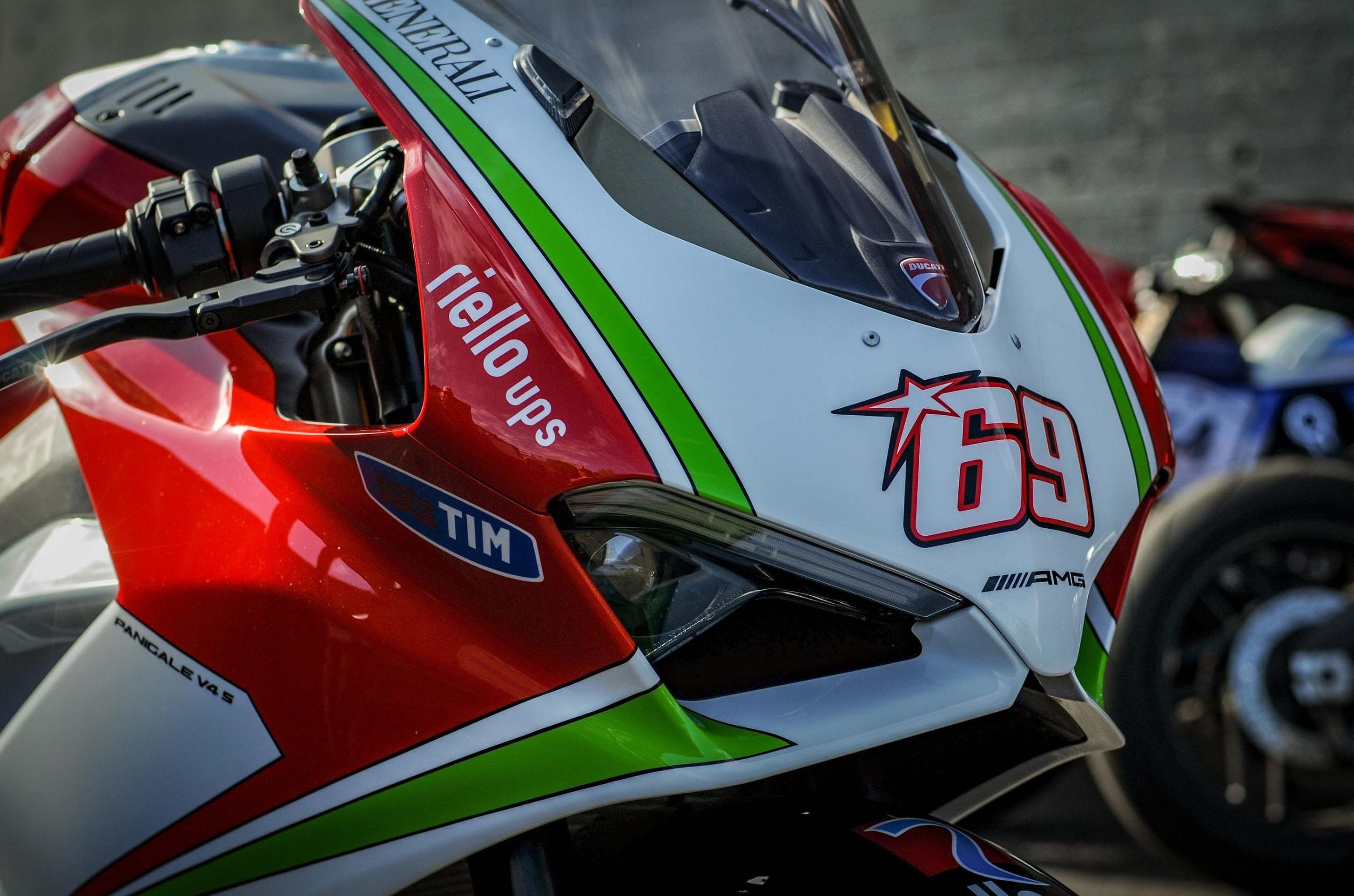 Ducati Panigale V4 Nicky Hayden Tribute