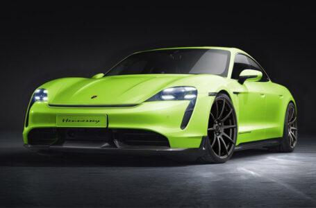 Porsche Taycan รถยนต์ไฟฟ้า กับชุดแต่งรอบคันจากสำนัก Hennessey