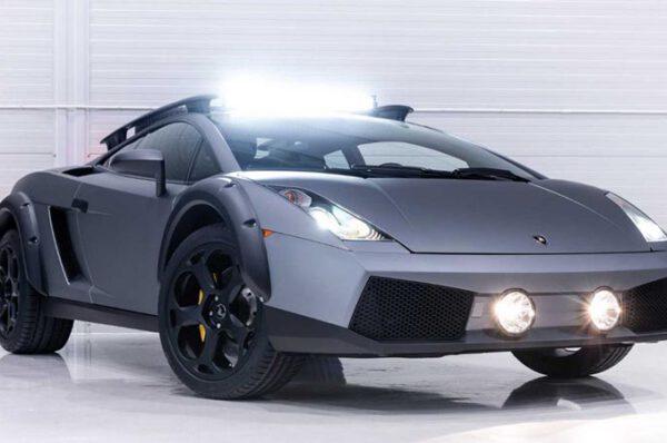 Lamborghini Gallardo แต่งสุดโหดพร้อมลุยทุกเส้นทาง ราคา 3.8ล้านบาท