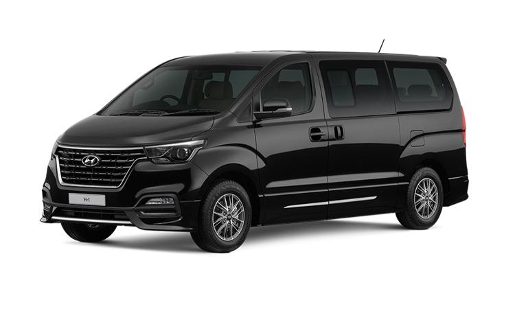 Hyundai H1 สี Timeless Black