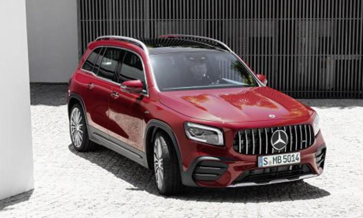 ดีไซน์ภายนอก Mercedes-AMG GLB 35