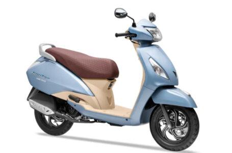 TVS เปิดตัว TVS Jupiter Grande 110 รถจักรยานยนต์ที่ประเทศอินเดีย