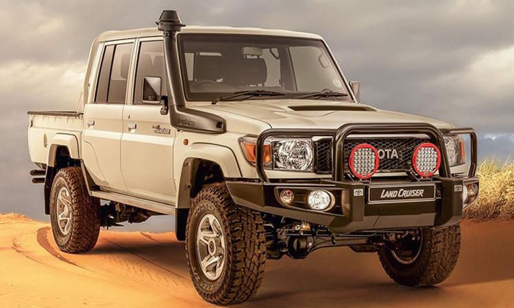 Toyota วางจำหน่าย Toyota Land Cruiser 70-Series Namib รุ่นพิเศษ ในตลาดแอฟริกาใต้