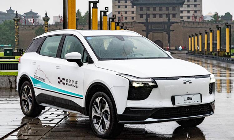 Aiways U5 EVs Model รถพลังงานไฟฟ้า สุดโหดในประเทศจีน